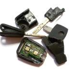 Rôzne zničené kľúče